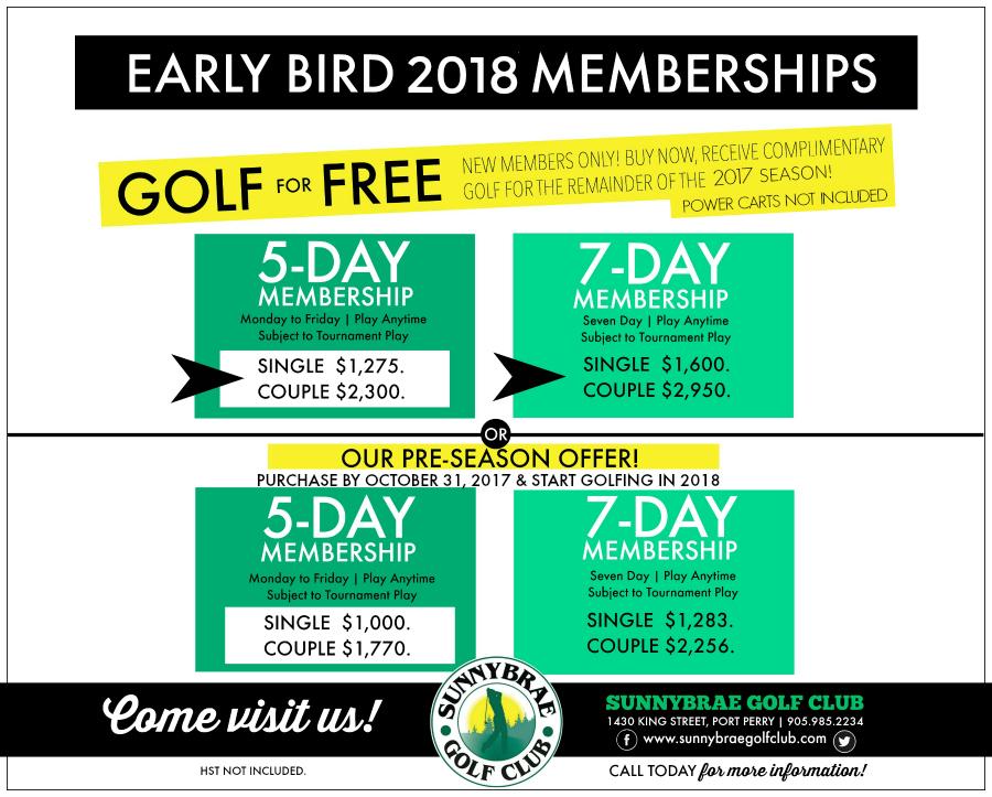 2018earlybirdPreseason rates Sunnybrae