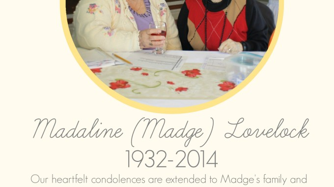 Tribute to Madge Lovelock