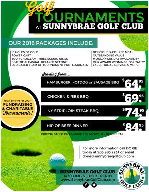 GolfTournamentPackages2018SunnybraePortPerry