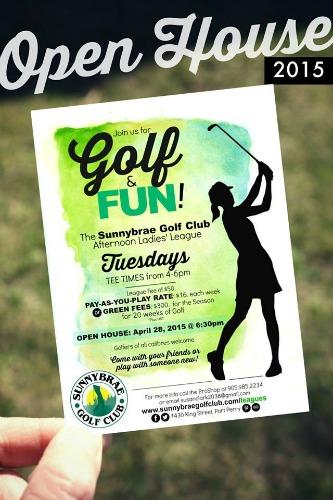 Ladies Golf League Open House