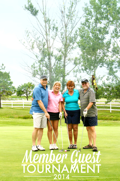photo of Golf players from the Member Guest Golf Tournament