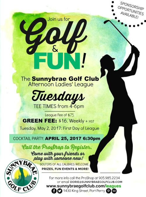Sunnybrae Golf Club Ladies League 2017