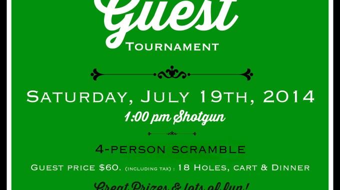 Member Guest Tournament