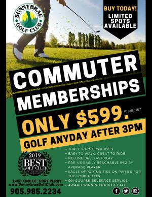 commuter membership 2020 Sunnybrae web