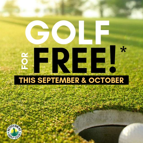 Golf for Free at Sunnybrae Golf Club Port Perry when you buy a 2020 Golf Membership before October 31
