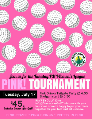 pink tournament web