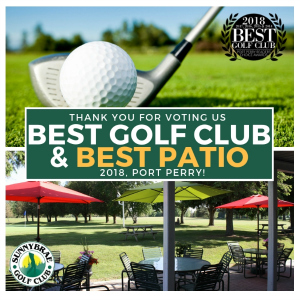 thank you! 2018 best golf club port perry