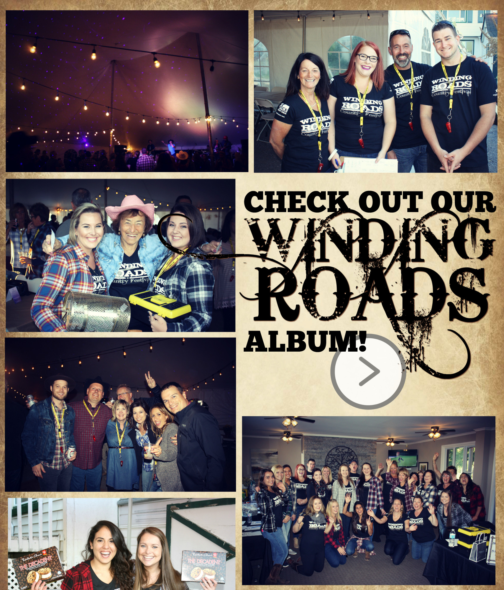Check out our Winding Roads 2016 photo album!