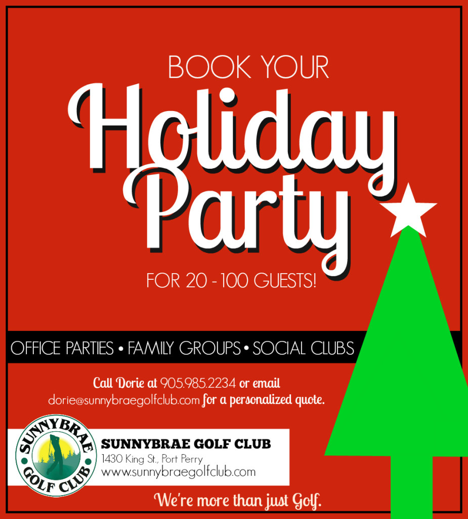 Book your Holiday Party at Sunnybrae!