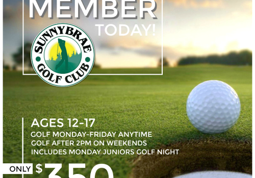 Junior Golf Membership 2017