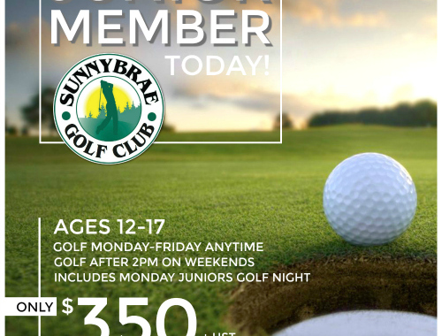 Junior Golf Membership 2017