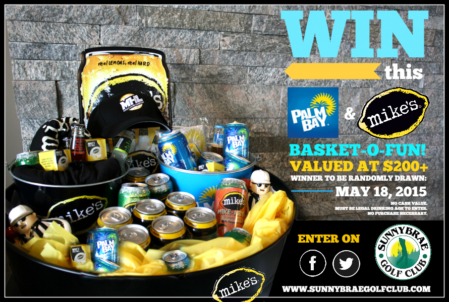 Enter to WIN this Palm Bay & Mike's Hard Lemonade giveaway!