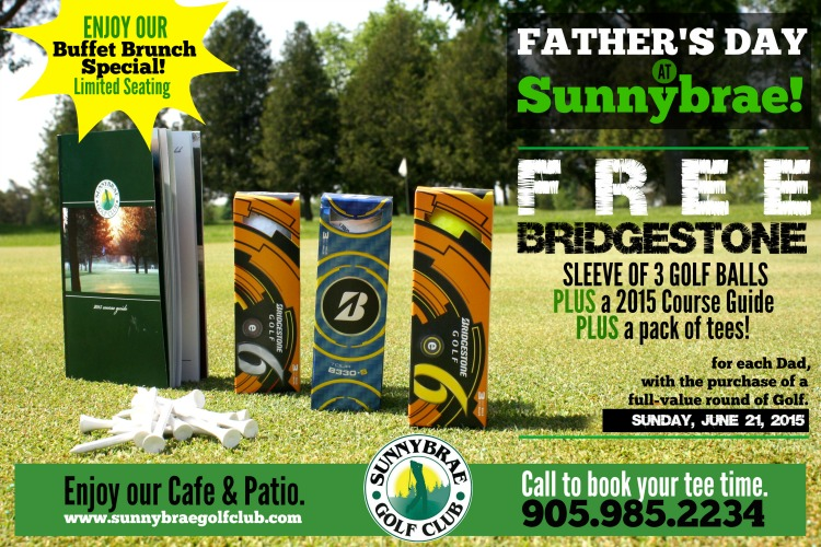 Father's Day Golf Special
