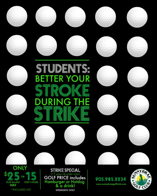 Student STRIKE special!