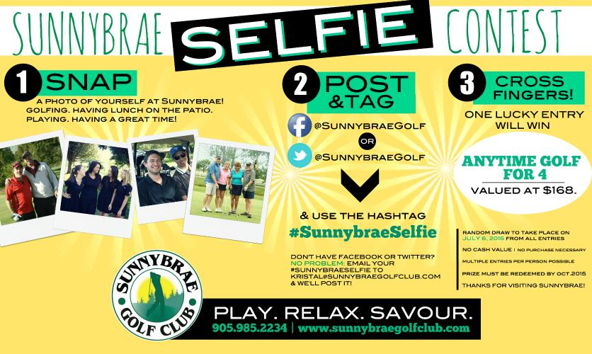 Sunnybrae Selfie Contest