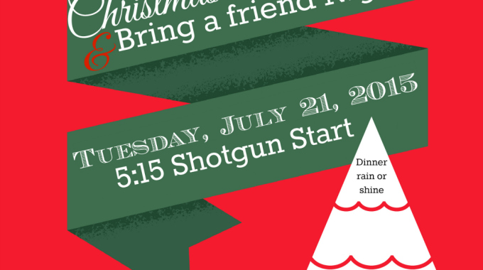 The Annual Christmas in July Ladies PM League Tournament!