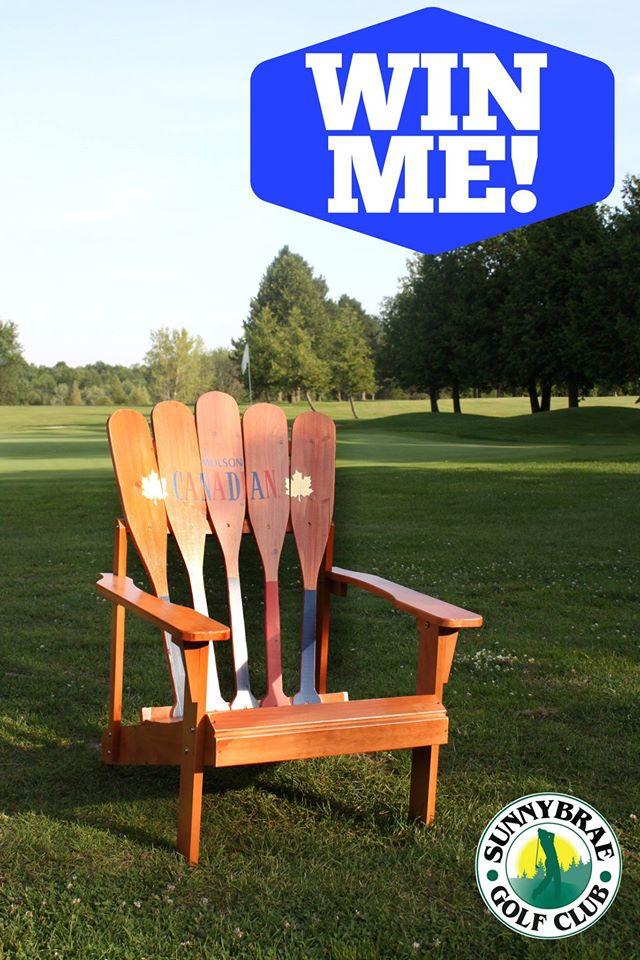 win this muskoka paddle chair