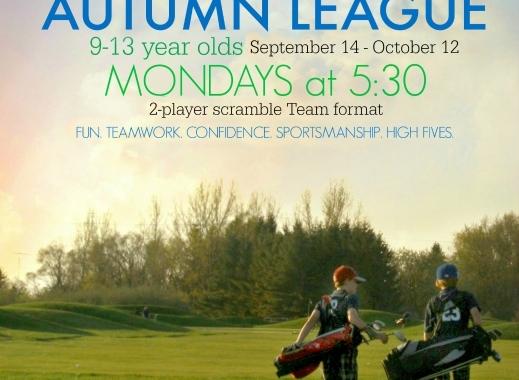 Autumn Junior Golf League