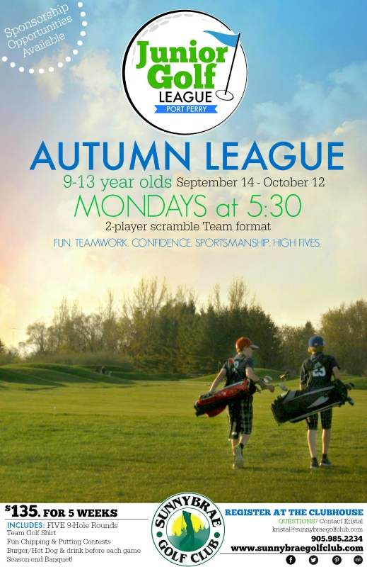 Autumn Junior Golf League