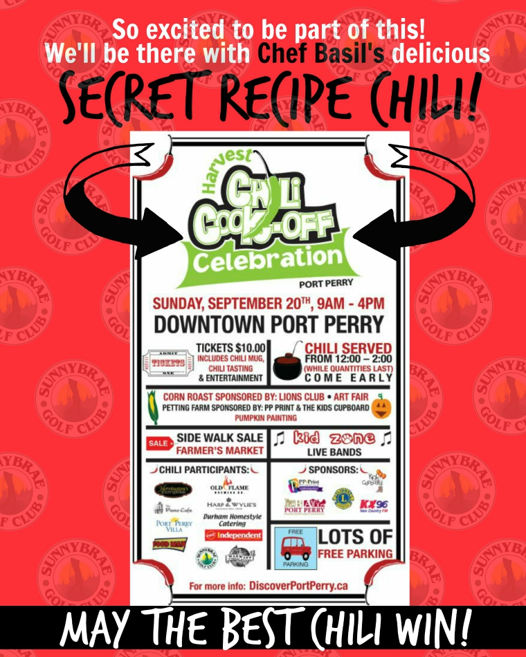 Port Perry Chili Cook-off