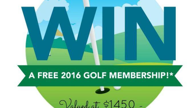 WIN a FREE 2016 Sunnybrae Golf Club Membership!