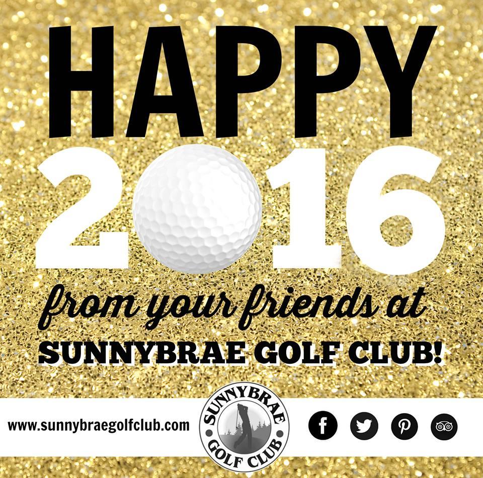 Happy 2016 from Sunnybrae Golf Club