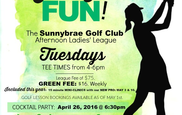 Register for our Ladies PM Golf League