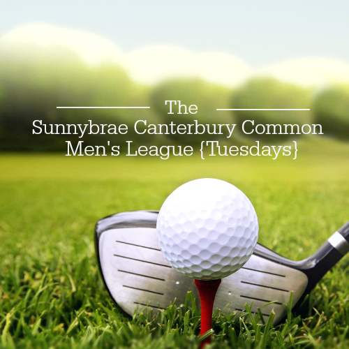 canterbury golf league at Sunnybrae Golf Club