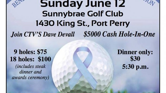 2nd Annual Esophageal Cancer Charity Golf Tournament for The Princess Margaret Cancer Foundation.