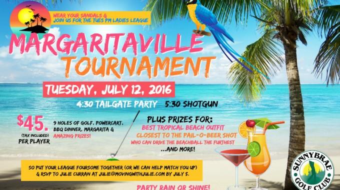 Our Tues. PM Ladies League Margaritaville Tournament