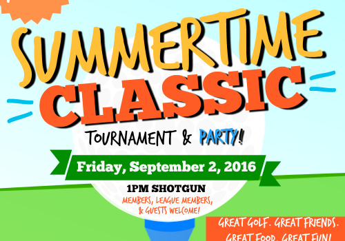 Summertime Classic Golf Tournament at Sunnybrae