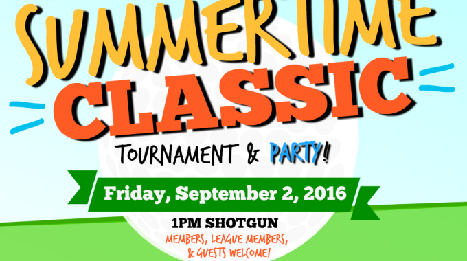 Summertime Classic Golf Tournament at Sunnybrae