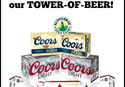 Enter to WIN our Tower-of-Beer Giveaway!