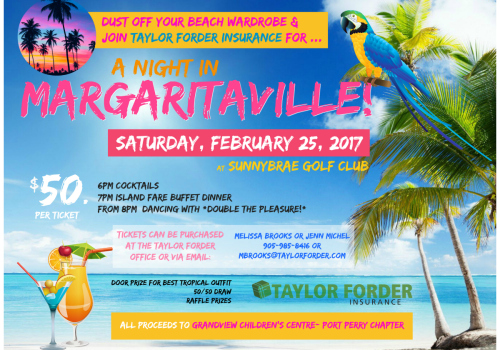 Margaritaville Night with Taylor Forder Insurance