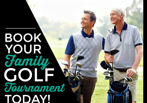 Host your Family Golf Tournament this Summer at Sunnybrae!