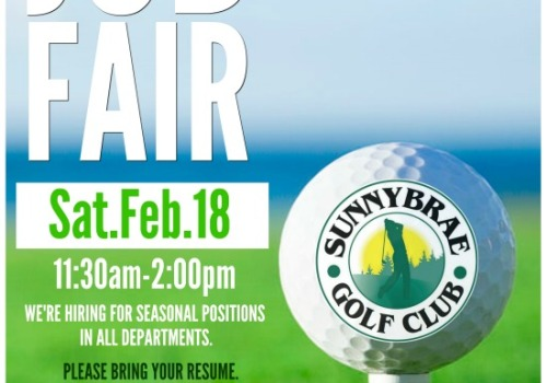 Our 2017 Sunnybrae Golf Club Job Fair
