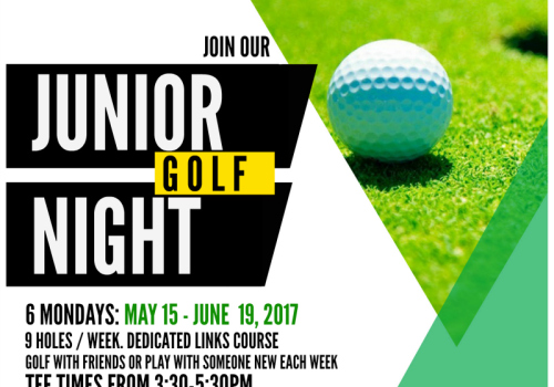 the NEW Junior Golf Night at Sunnybrae Golf Club 2017