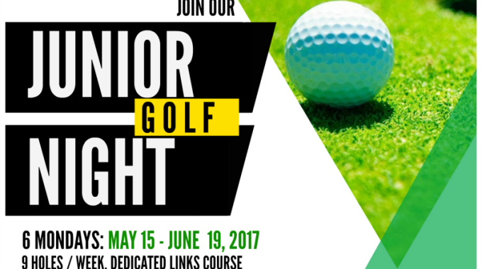 the NEW Junior Golf Night at Sunnybrae Golf Club 2017