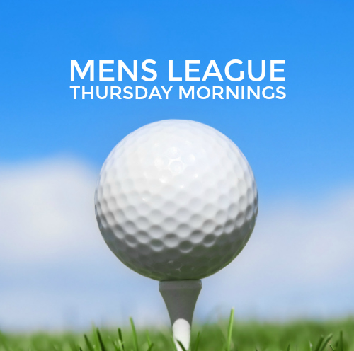 thursday morning golf league