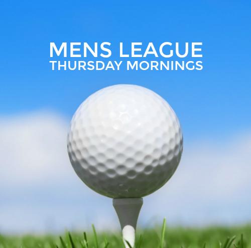 thursday morning golf league