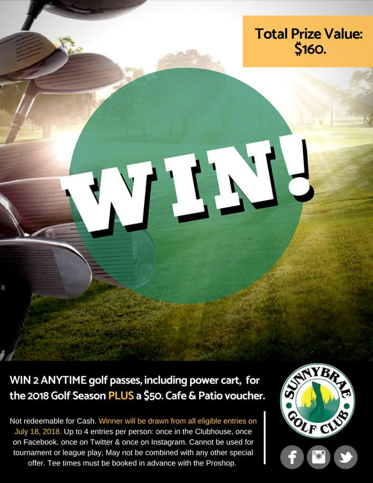 Golf Giveaway!