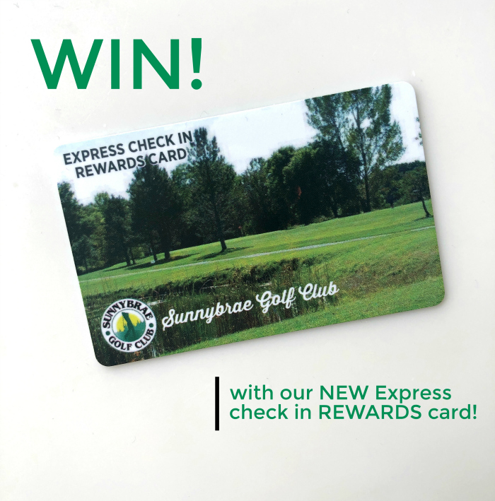 Introducing: our NEW Express Check in Rewards Card & a giveaway!