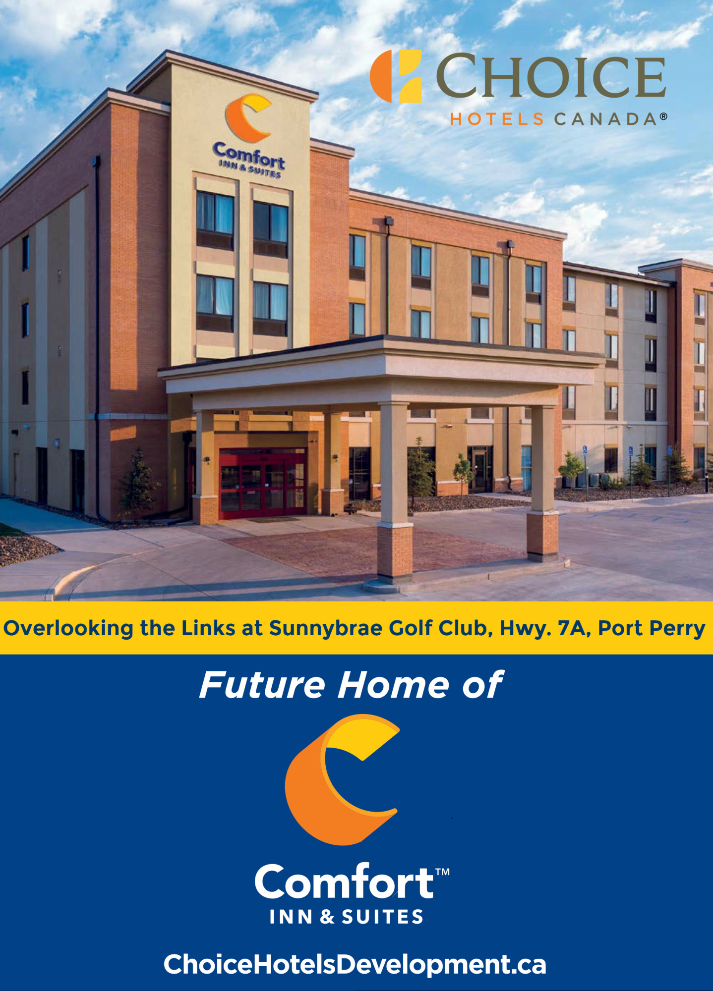 Sunnybrae Golf Club brings Comfort Inn & Suites Hotel to Port Perry!