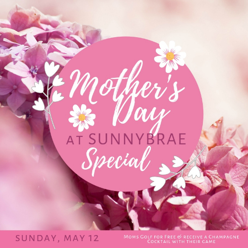 Moms Golf For FREE This Mother's Day 2019!