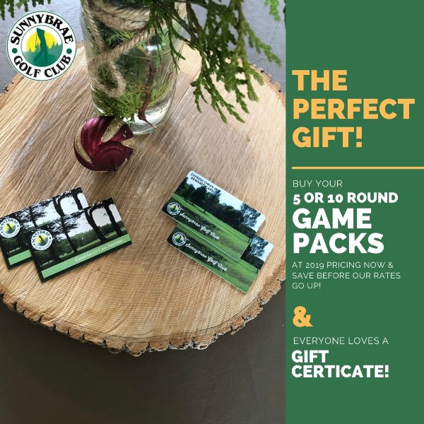 The perfect gift golf at Sunnybrae