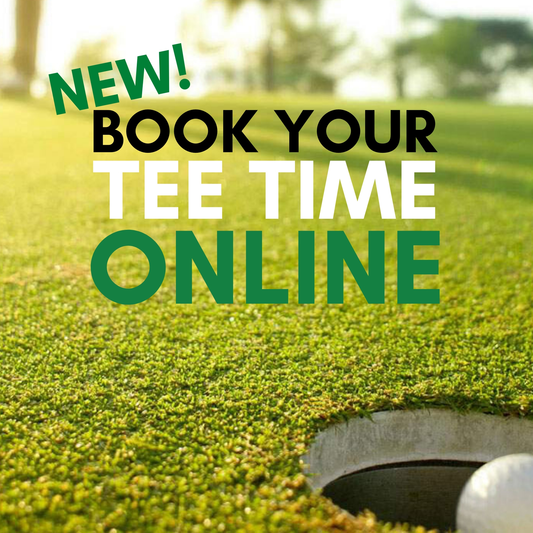 NEW! Book Your Sunnybrae Tee Time Online!